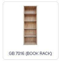 GB 7016 (BOOK RACK)